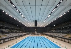 To View the New Tokyo Aquatics Centre and Ariake Arena